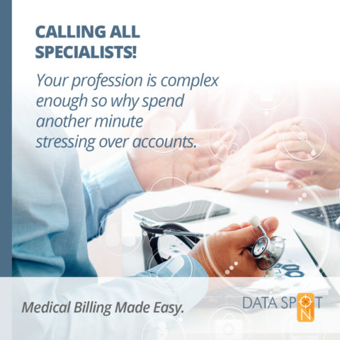Outsourcing your Specialist Practice Medical Billing Administration!
